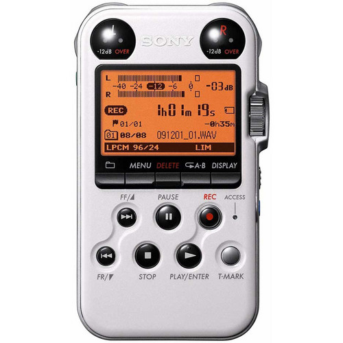 Sony PCM-M10 Portable Audio Recorder (White)