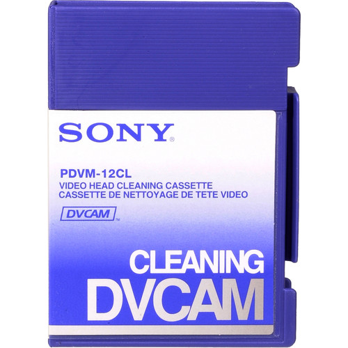 Sony Video Head Cleaning Cassette (Small)