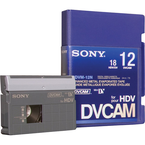 Sony PDVM-12N/3 DVCAM for HDV Tape