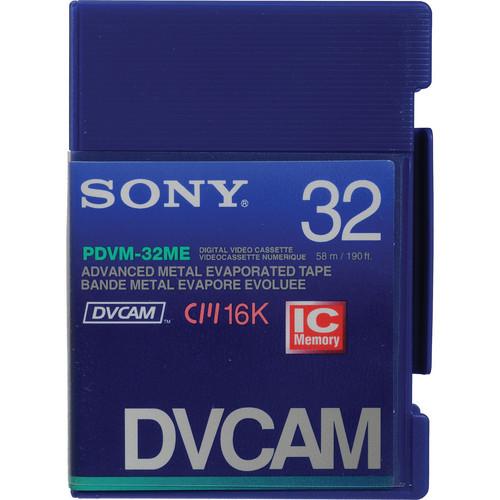 Sony PDVM-32ME/2 DVCAM Mini Videocassette (Mini)