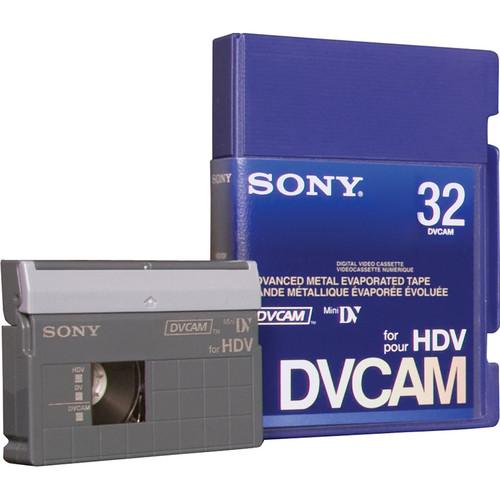 Sony PDVM-32N/3 DVCAM for HDV Tape