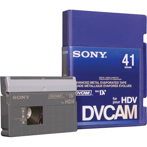 Sony PDVM-41N/3 DVCAM for HDV Tape