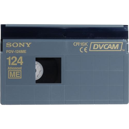 Sony PDV-124ME/2 DVCAM Videocassette (Standard)