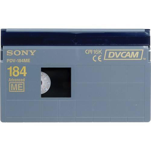 Sony PDV-184ME/2 DVCAM Videocassette (Standard)