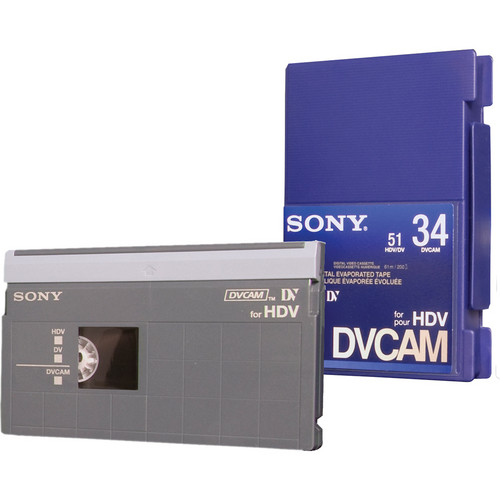 Sony PDV-34N/3 DVCAM for HDV Tape