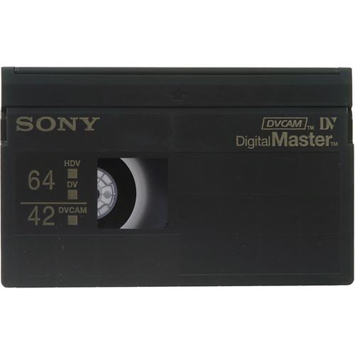 Sony PHDV-64DM 64 Minute Digital Master Videocassette