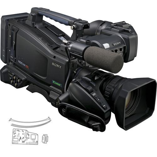 Sony PMW-320K XDCAM EX Camcorder w/16x Zoom & CBK-CE01