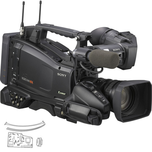 Sony PMW-350K XDCAM EX Camcorder w/16x Zoom & CBK-CE01