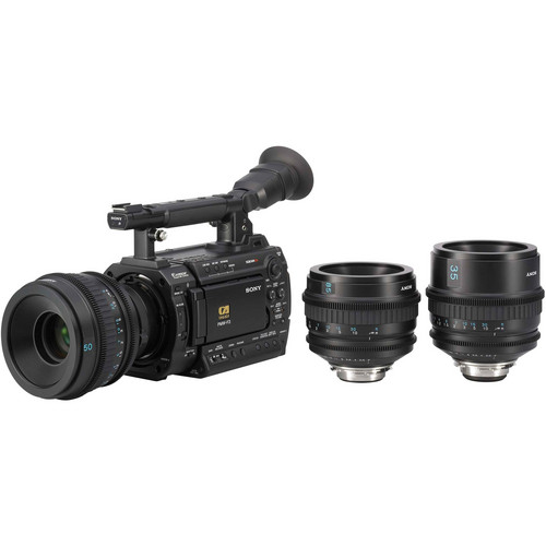 Sony PMW-F3 Super 35mm XDCAM EX Full-HD Compact Camcorder with S-Log Gamma and Prime Lenses