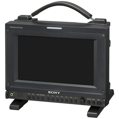 "Sony PVM-741 TRIMASTER EL OLED 7.4"" Monitor with 3G-SDI and HDMI"