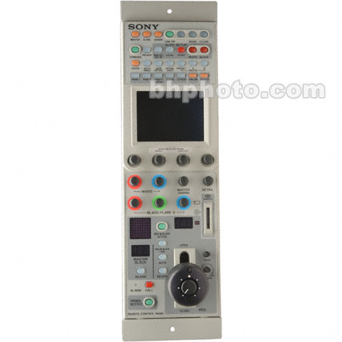 Sony RCP-D50 Remote Control CCU Panel with Joystick