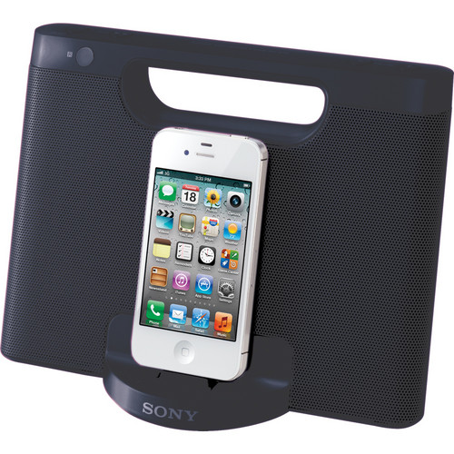 Sony RDP-M7iP Speaker Dock for iPod and iPhone (Black)
