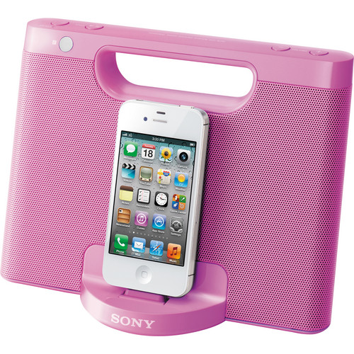 Sony RDP-M7iP Speaker Dock for iPod and iPhone (Pink)