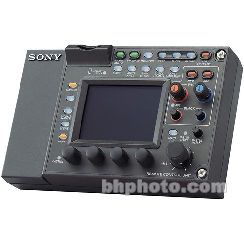 Sony RMB-750 Remote Control Unit for BVP/HDC Cameras/VTRs