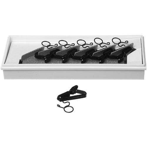 Sony SAD-H44B - Horizontal Microphone Clips for ECM44B (Set of 10) (Black)