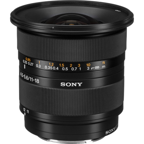 Sony DT 11-18mm f/4.5-5.6 Lens