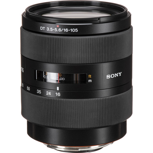 Sony 16-105mm f/3.5-5.6 DT Standard Zoom Lens