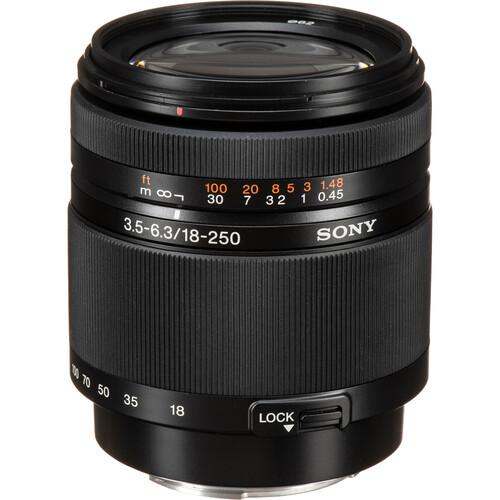 Sony DT 18-250mm f/3.5-6.3 Lens