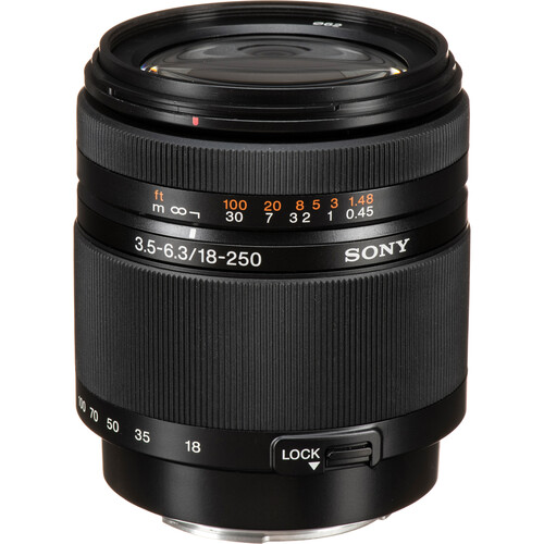 Sony DT 18-250mm f/3.5-6.3 Lens
