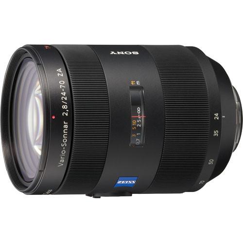 Sony 24-70mm f/2.8 Carl Zeiss T* Alpha A-Mount Standard Zoom Lens