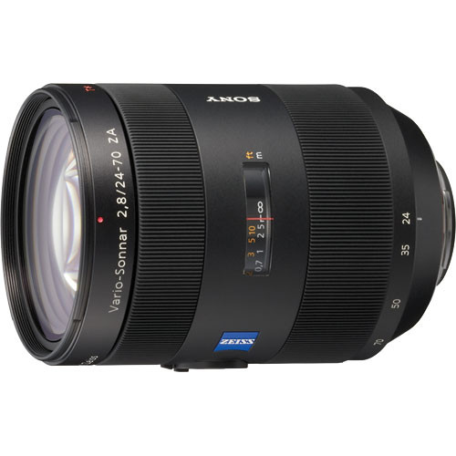 Sony 24-70mm f/2.8 Carl Zeiss T* Alpha A-Mount Standard Zoom Lens