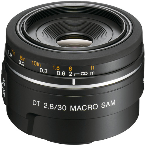 Sony 30mm f/2.8 DT Alpha A-Mount Macro Prime Lens