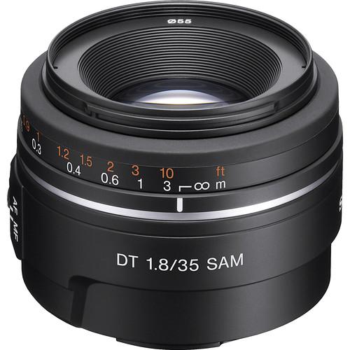 Sony 35mm f/1.8 DT Alpha A-Mount Standard Prime Lens