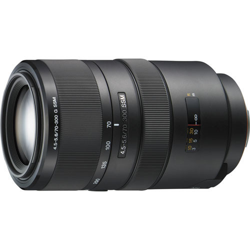 Sony 70-300mm f/4.5-5.6G Telephoto Zoom Lens