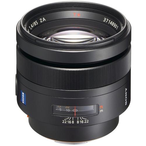 Sony 85mm f/1.4 Carl Zeiss Planar T* Prime Lens