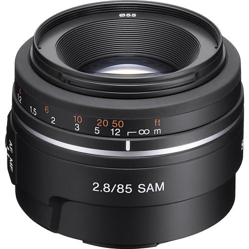 Sony 85mm f/2.8 Alpha A-Mount Standard Prime Lens