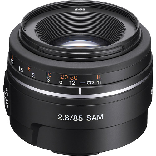Sony 85mm f/2.8 SAM Lens