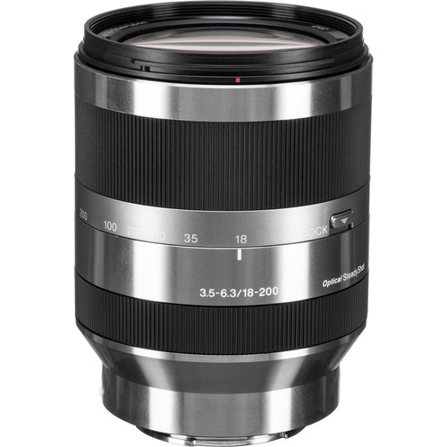 Sony E 18-200mm f/3.5-6.3 OSS Lens