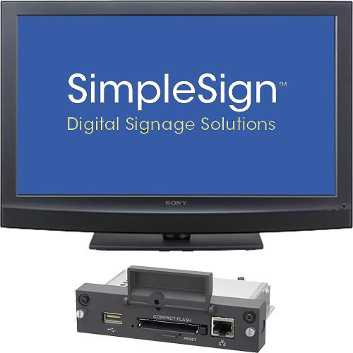"Sony SimpleSign 40"" LCD Signage Display Kit"