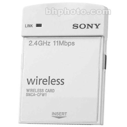 Sony CF Type IEEE802.11b Wireless LAN Card