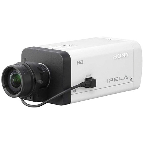 Sony SNC-CH120 E-Series Fixed Network HD Camera (Indoor, White)