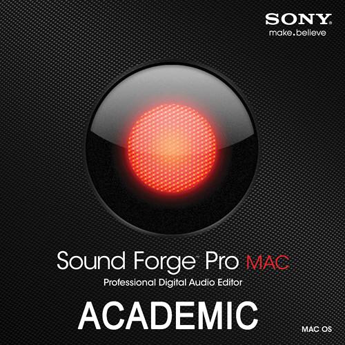 Sony Sound Forge Pro Mac