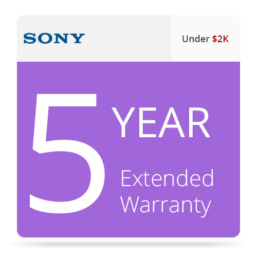 Sony 5-Year Extended Warranty for Entry-Level LMD Monitors Under $2,000