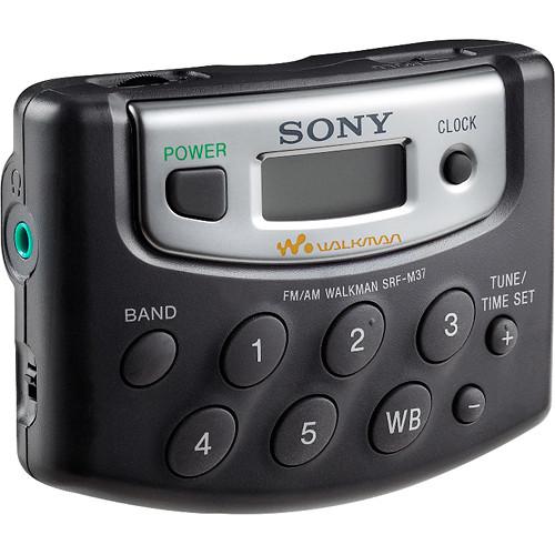 Sony SRF-M37W Digital Tuning Weather/FM/AM Stereo Radio (Black)