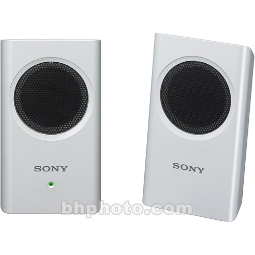 Sony SRS-M30 Portable Stereo Computer Speakers (White)