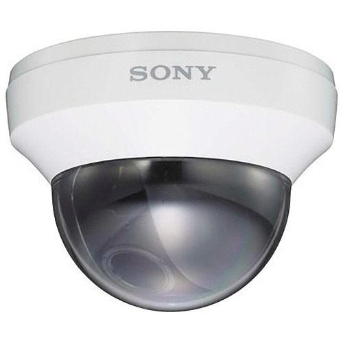 Sony Analog Color Indoor Mini-Dome Camera