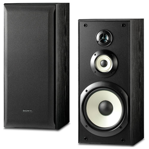Sony SS-B3000 3-Way Bookshelf Speakers