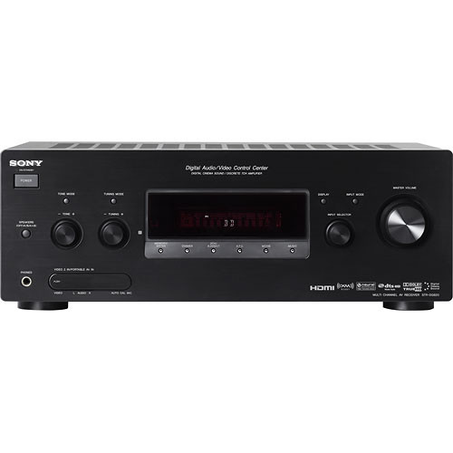 Sony STR-DG820 7.1-Channel Home Theater Receiver