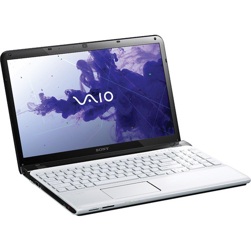 "Sony VAIO E1511 SVE1511GFX/W 15.5"" Notebook Computer (White)"