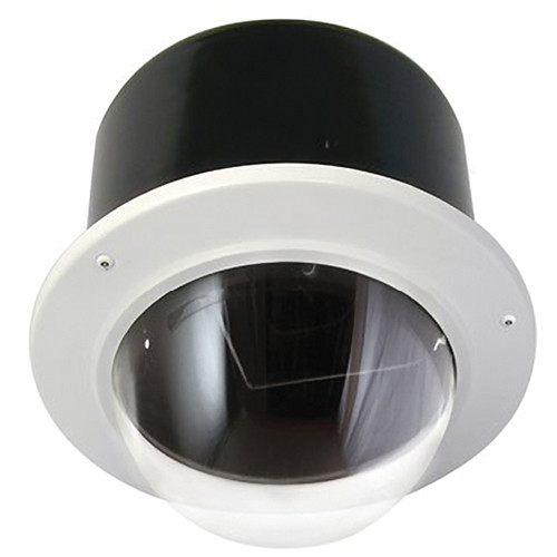 "Sony UNIOFS7C1 7"" Vandal-Resistant Outdoor Recessed Dome (Clear Bubble)"