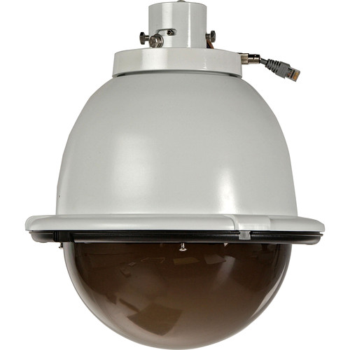 """Sony UNI-ONS7T1 7"""" Outdoor Pendant-Mount Tinted Dome Housing with Heater and Blower for SNC-RZ50N Camera"""