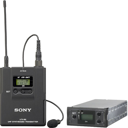 Sony UWP-X7 Wireless Lavalier System (U3032)