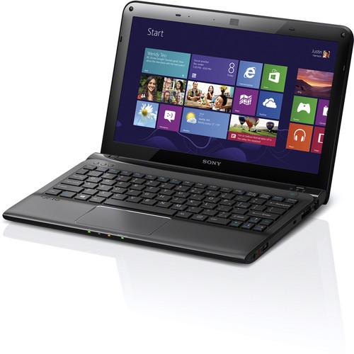 "Sony VAIO E Series 11 SVE11125CXB 11.6"" Notebook Computer (Sharkskin Black)"