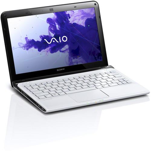 "Sony VAIO E Series 11 SVE11125CXW 11.6"" Notebook Computer (Seaform White)"