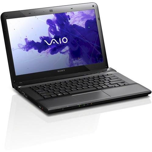 "Sony VAIO E Series 14 SVE14126CXB 14"" Notebook Computer (Sharkskin Black)"