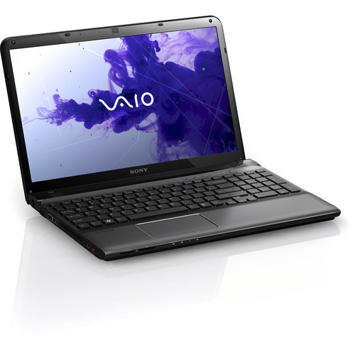 "Sony VAIO E Series 15 SVE15122CXB 15.5"" Notebook Computer (Sharkskin Black)"